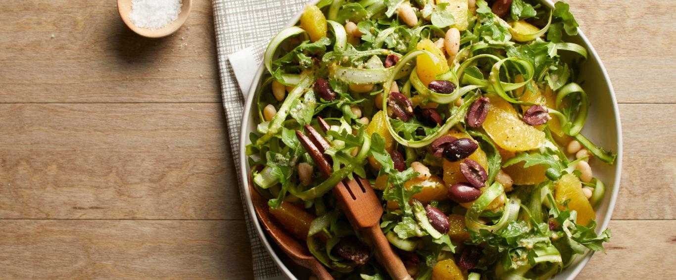 DETOX: Shaved Asparagus Salad